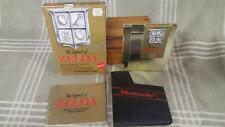 1987 NES Nintendo Gold Legend of Zelda Game in Box. Mattel.