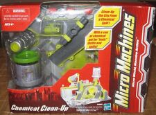 Hasbro Micro Machines Chemical Clean-Up Set 2003 45809 New READ