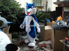 Wolf Mascot Costume Birthday party Fancy Dress Adults size Outfits professional