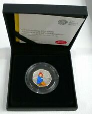 More details for 2018 paddington at the station colourized silver proof royal mint 50p boxed&coa
