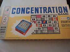 1961 Milton Bradley Concentration board game