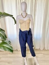 Kenzo defile (runway) navy blue pants. Size 40 French (M US)