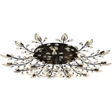 Ceiling Lamp Modern K9 Crystal LED Flush Mount Chandelier Lights Fixtures Decors