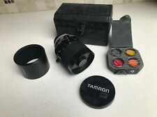 Tamron SP  500mm  F/8 Tele Macro Reflex with Canon FD adapter - Perfect Cond