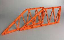 LEGO® City 2x Brückenelement Girder 55767 orange aus Set 7709 4210 Brücken Teil
