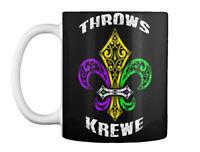 Mardi Gras Fleur De Lis Party - Throws Krewe Gift Coffee Mug