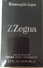 Z ZEGNA by ERMENEGILDO ZEGNA MEN'S EAU DE TOILETTE SPRAY1.7 OZ/50ML SEALED