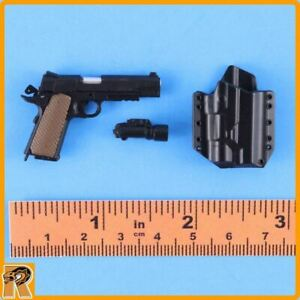 CIA Armed Agents - 1911 Pistol Set - 1/6 Scale - Mini Times Action Figures
