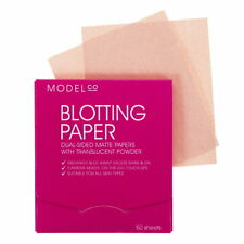 Model Co Blotting Paper Dual Sided Matte Papers with Translucent Powder 50 SHEET