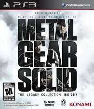 Metal Gear Solid: The Legacy Collection no Artbook PS3 New PlayStation 3