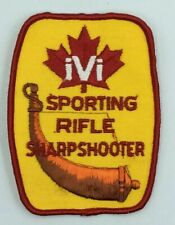 """IVI Sporting Rifle Sharpshooter 4"""" Patch"""