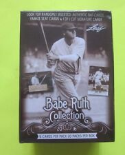 2016 Leaf Babe Ruth Collection Baseball Box