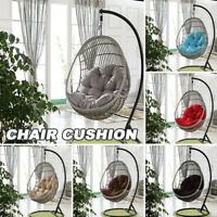 Hanging Egg Rattan Chair Cushion Swing Seat Pads Garden Patio Indoor Outdoor