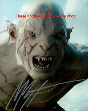 MANU BENNETT The Hobbit Azog Signed Original Autographed Photo 8x10 COA #2
