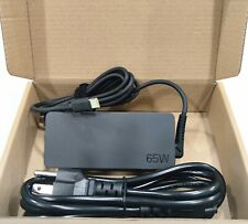 Lenovo ThinkPad Genuine Oem 65W Usb-C Charger Type-C Laptop Adapter charger 20V