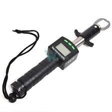 Fish Lip Gripper Grip Tool Stainless Steel+25kg/55lb Digital Scale + Ruler 3IN1
