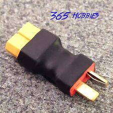 Male Deans to Female XT60 Connector Adapter Brushless Lipo Charger Speed XT-60