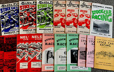 More details for vintage classic stock car programmes 1960s/70s