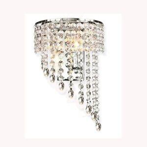 Kristall Mauer Leuchter Beleuchtung Gang Licht Mauer Lampe Wandleuchten H