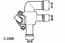 Thermostat Kühlmittel - Behr TI 52 90