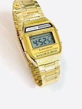 Vintage Sanyo Melody Lcd Alarm Chronograph  Digital Wrist Watch(138M)