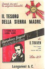 IL TESORO DELLA SIERRA MADRE - B. TRAVEN - POCKET LONGANESI 1965