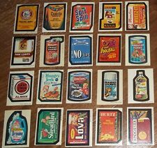 Vintage Topps Wacky Packages 3rd Series 3 Topps sticker lot Spit N Spill 20/30
