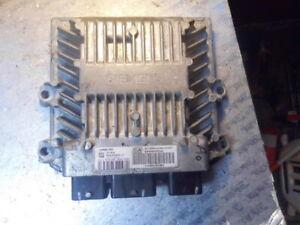 Peugeot Citroen C4 1.4 ECU SID806 5WS40285C-T SW9660300280 HW9653451880   7