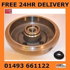 Ford Focus MK1 Rear Brake Drum With Wheel Bearing Fitted 98-04 NON ABS