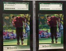 2001 Upper Deck Tiger Woods SGC-98 & SGC-96