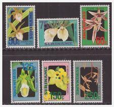 Surinam / Suriname 1992 Orchidee orchids MNH