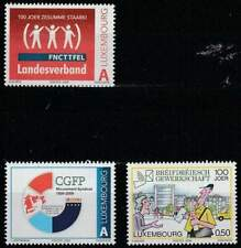 Luxemburg postfris 2009 MNH 1821-1823 - Diverse Herdenkingen