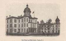 State Normal and Model Schools in Trenton NJ Postcard