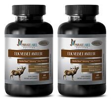 Vitamin B6 - ELK VELVET ANTLER 550mg - immune support life extension - 2 Bottles