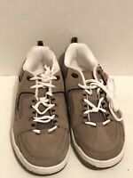 Men's Route 66 Tan Leather/suede Sneakers Size 8.5