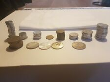 DMark Sammlung - 0,10 - 0,20 - 0,50, 1 - 2 - 5 - 10 Mark Münzen