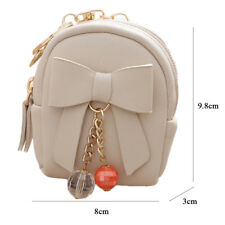 Fashion Backpack Tassel Chain Coin Purse Key Card Bag Coin Wallet Women Girls CA