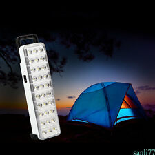 Rechargeable 30 LED Flashlight Torch Home Outdoor Emergency Light 2 Models WH