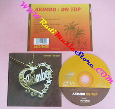 CD AKIMBO On Top 1998 Uk ACID JAZZ AJXCD 103 no lp mc dvd (CS16)