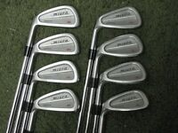 LH Miura Forged JG Irons 3-PW Regular Flex NS Pro Steel EXCELLENT!!