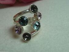 Modeschmuck-Ringe im Gliederring-Stil aus Metalllegierung