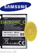 ORIGINAL SAMSUNG BATTERY AB653039CU FOR METRO S3310, U900 SOUL, U800, E950, L170