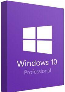 Microsoft Windows 10 pro OEM Vollversion 1 Lizenz Windows Betriebssystem Key