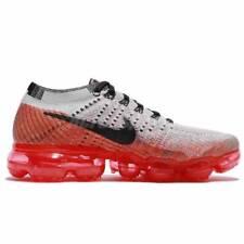 f6067f024fe7 WMNS Nike Air Vapormax Flyknit Wolf Grey Red Crimson Women Running  849557-026 7