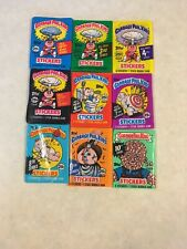 Garbage Pail Kids Unopened Wax Packs Series 2-10