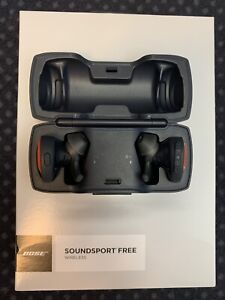 Bose Soundsport Free Wireless Headphones - Orange, TOP-Zustand!!