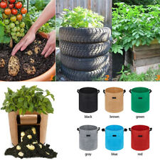 Plant Grow Fabric Planting Potato Bags Fruit Seed Moisturizing Bag Garden Tool B