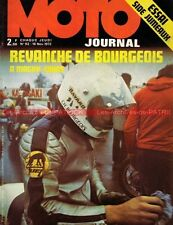 MOTO JOURNAL   92 HONDA CB 750 Four : Side Car de JUMEAUX FATH KONI ALICE 1972