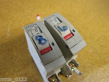 Fuji Electric CP31FM/5 CIRCUIT PROTECTOR 5AMP 1POLE 250VAC 65VDC (Lot of 2)