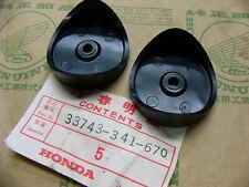 Honda CB 750 cuatro k2-k6 goma set páginas emisor base, Front reflex